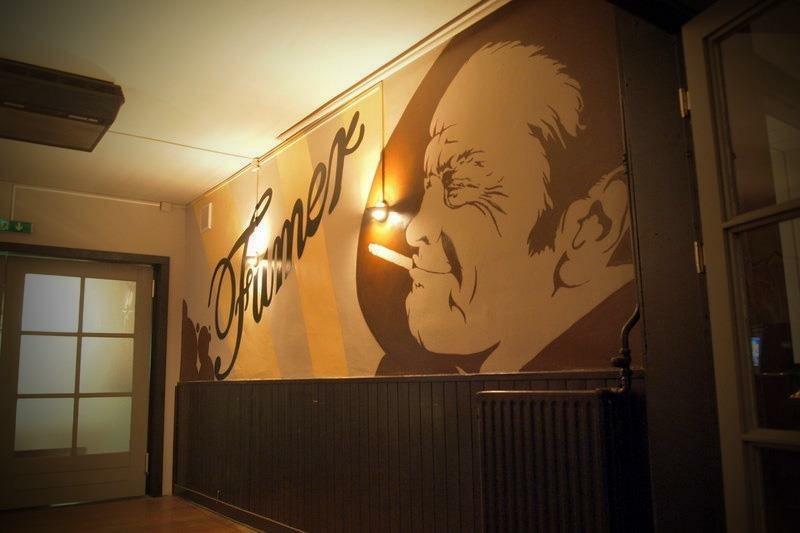 Graffiti in Restaurant