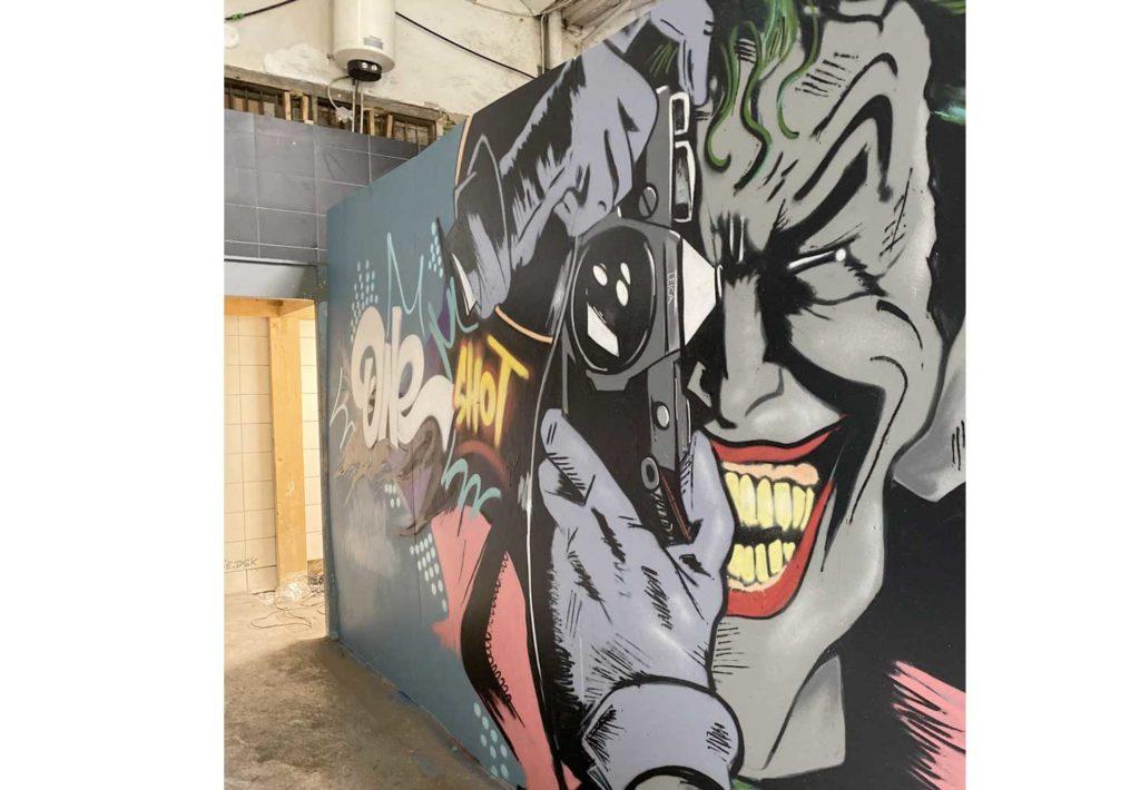 De joker graffiti