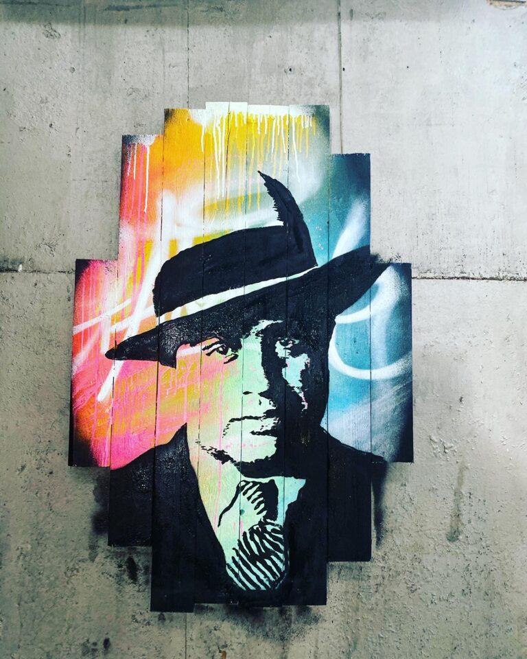 streetart portret